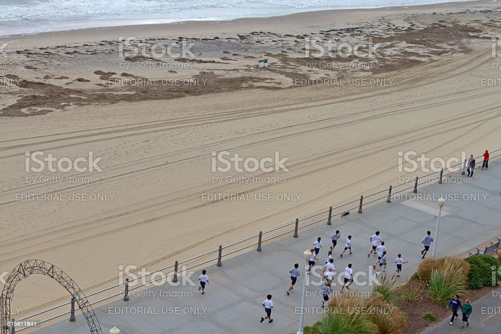 Virginia Beach Boardwalk Race Stock Photo - Download Image Now - iStock