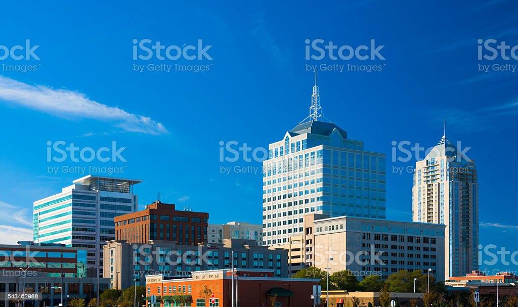Virginia Beach Town Center Skyline stock photo