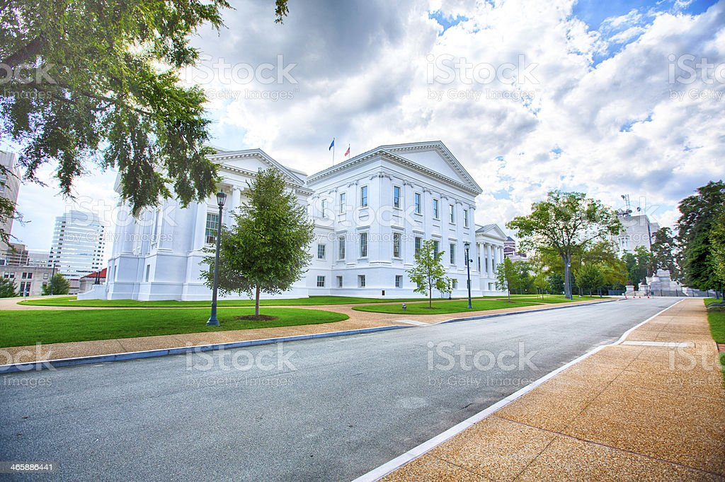 Virginia State Capital stock photo