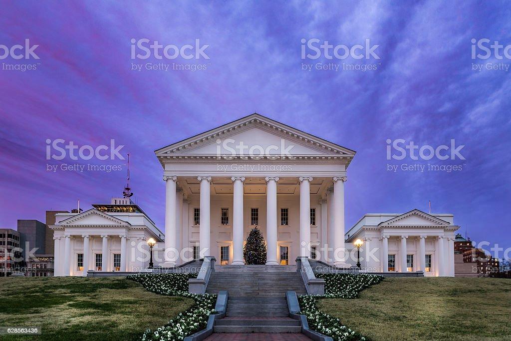 Virginia State Capital stock photo
