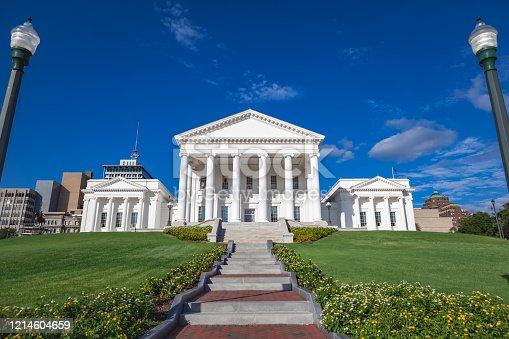 istock Virginia State Capitol building in Richmond Virginia 1214604659