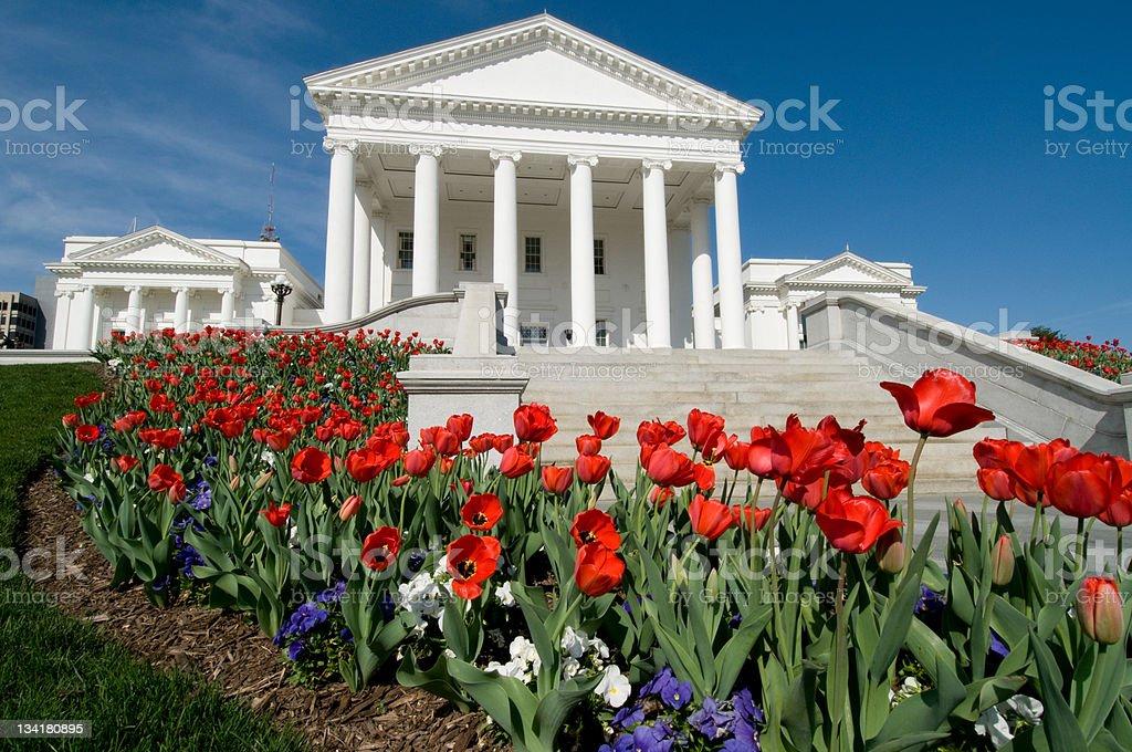 Virginia State Capitol stock photo