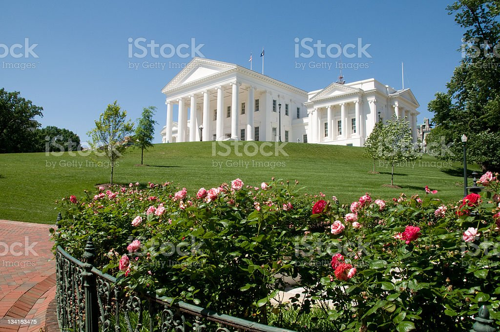 Virginia State Capitol stock photo