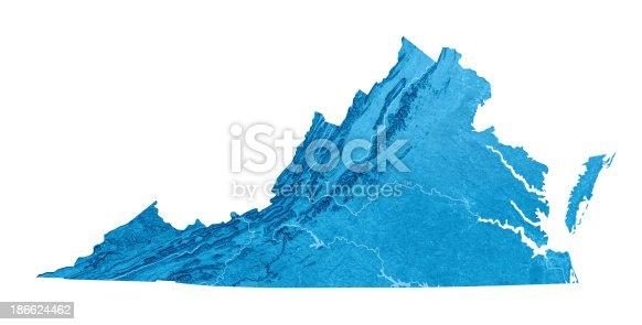 173169385istockphoto Virginia Topographic Map Isolated 186624462