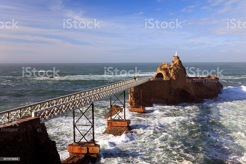Virgin s rock de Biarritz ville en France - Photo
