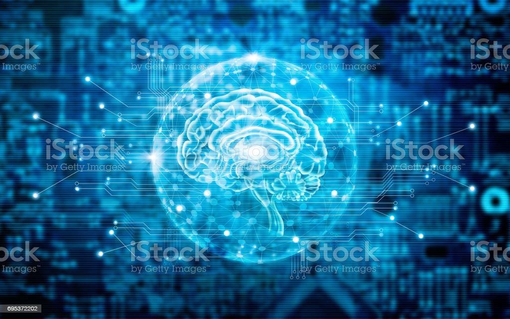 Virtuelles Gehirn Innovative Technologie In Wissenschaft Und ...