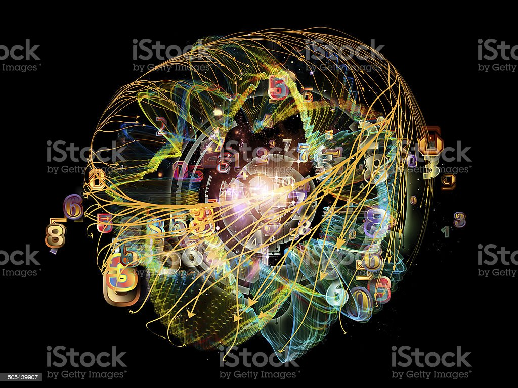 Virtual Design Element stock photo