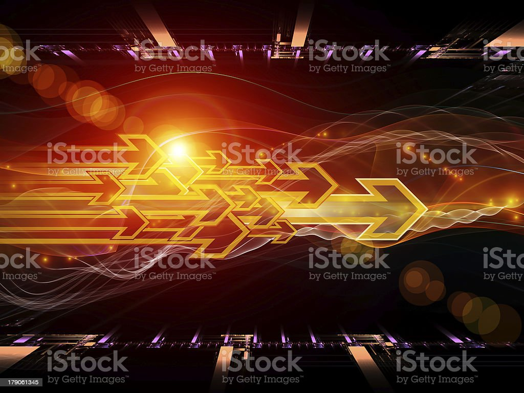Virtual Directions royalty-free stock photo