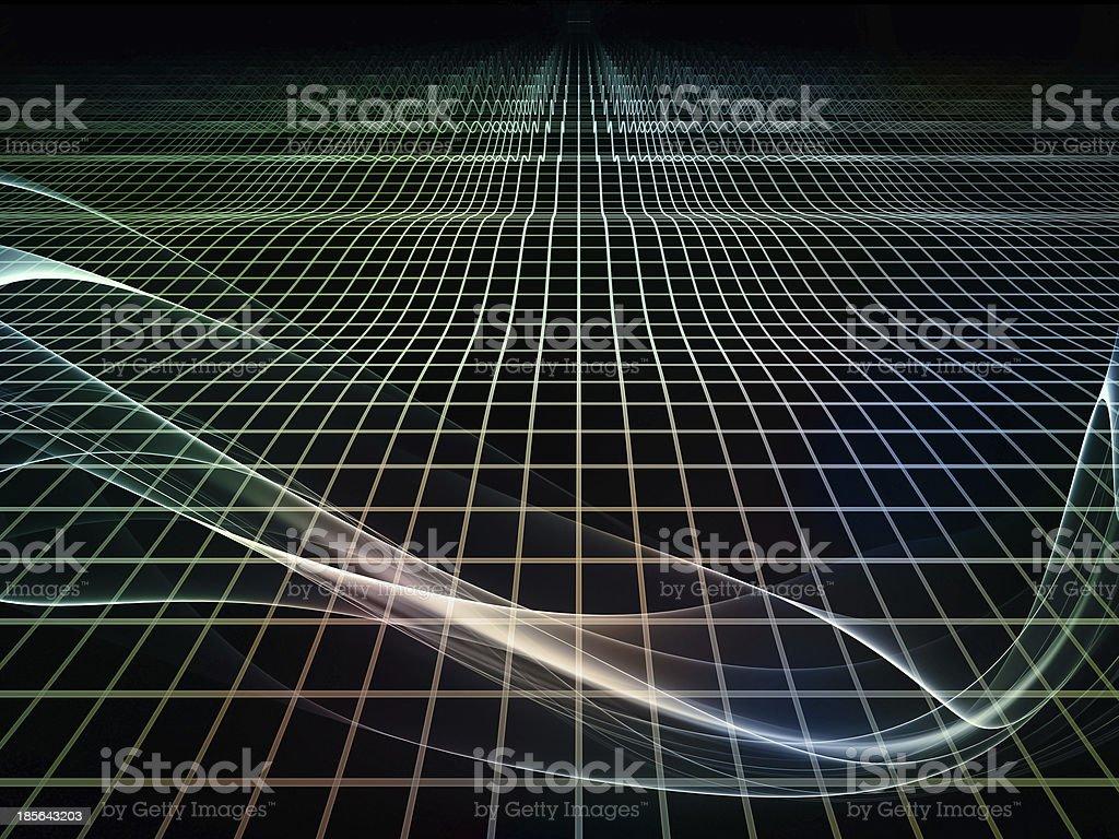 Virtual Fractal Realms royalty-free stock photo