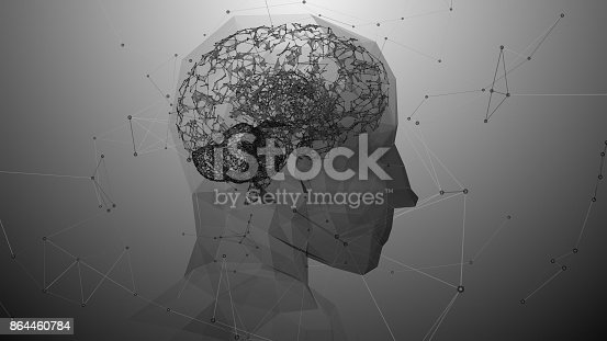 864460734istockphoto Virtual mind of a digital learning AI artificial intelligence robot 864460784