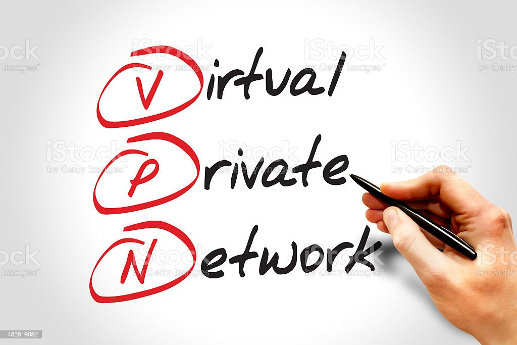 Virtual Private Network royalty-free stock photo