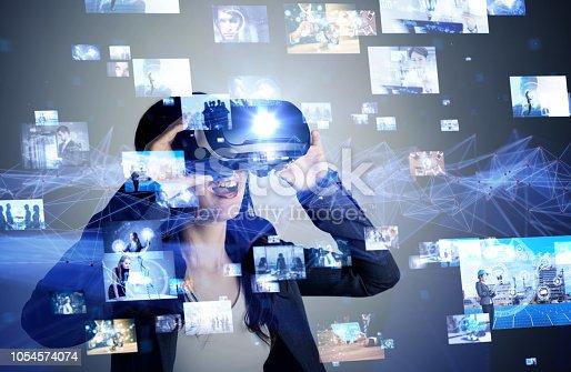 693586040istockphoto Virtual reality concept. 1054574074