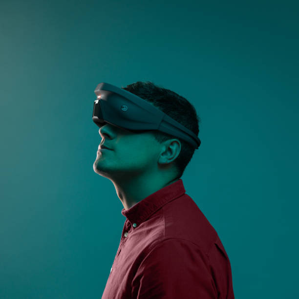Virtual Reality Device stock photo