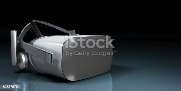 istock VR virtual reality headset half turned front view isolated on white background VR is an immersive experience in which your head movements are tracked in 3d world render 808576762
