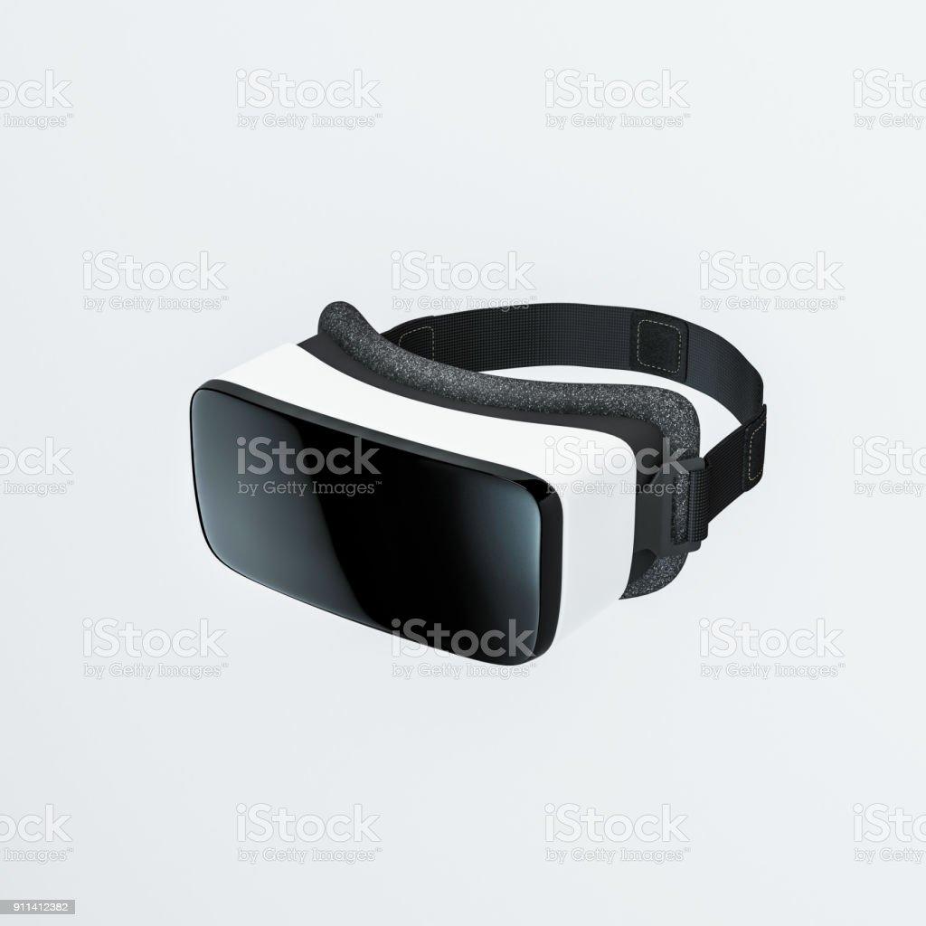 VR virtual reality headset stock photo