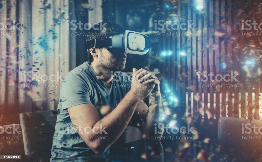 Virtual Reality in Aktion – Foto