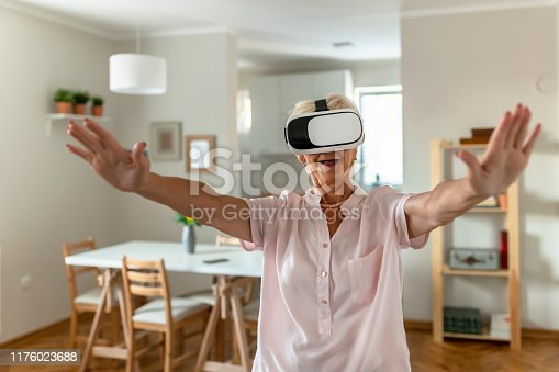 1053414472 istock photo Virtual reality is now a reality 1176023688