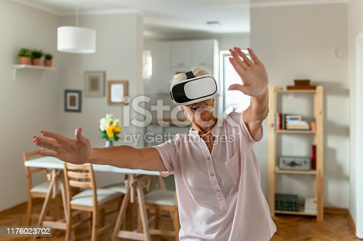 1053414472 istock photo Virtual reality is now a reality 1176023702