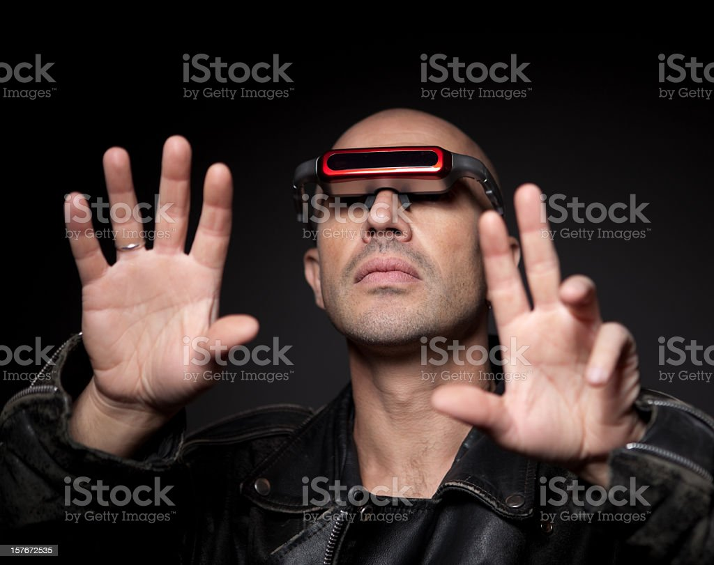 Virtual reality royalty-free stock photo