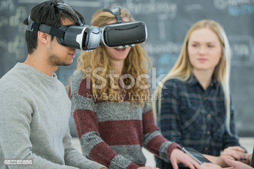 682285818 istock photo Virtual Reality 682285886