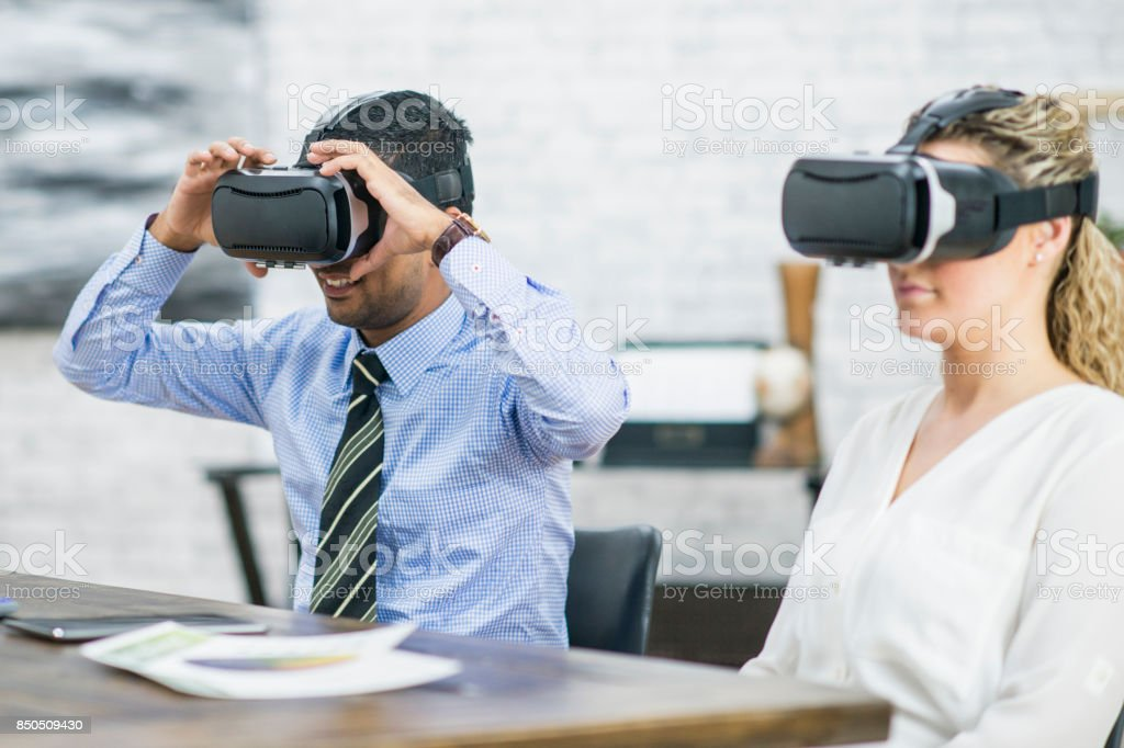 Virtual Reality stock photo