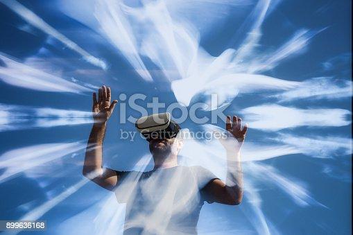 istock Virtual reality 899636168