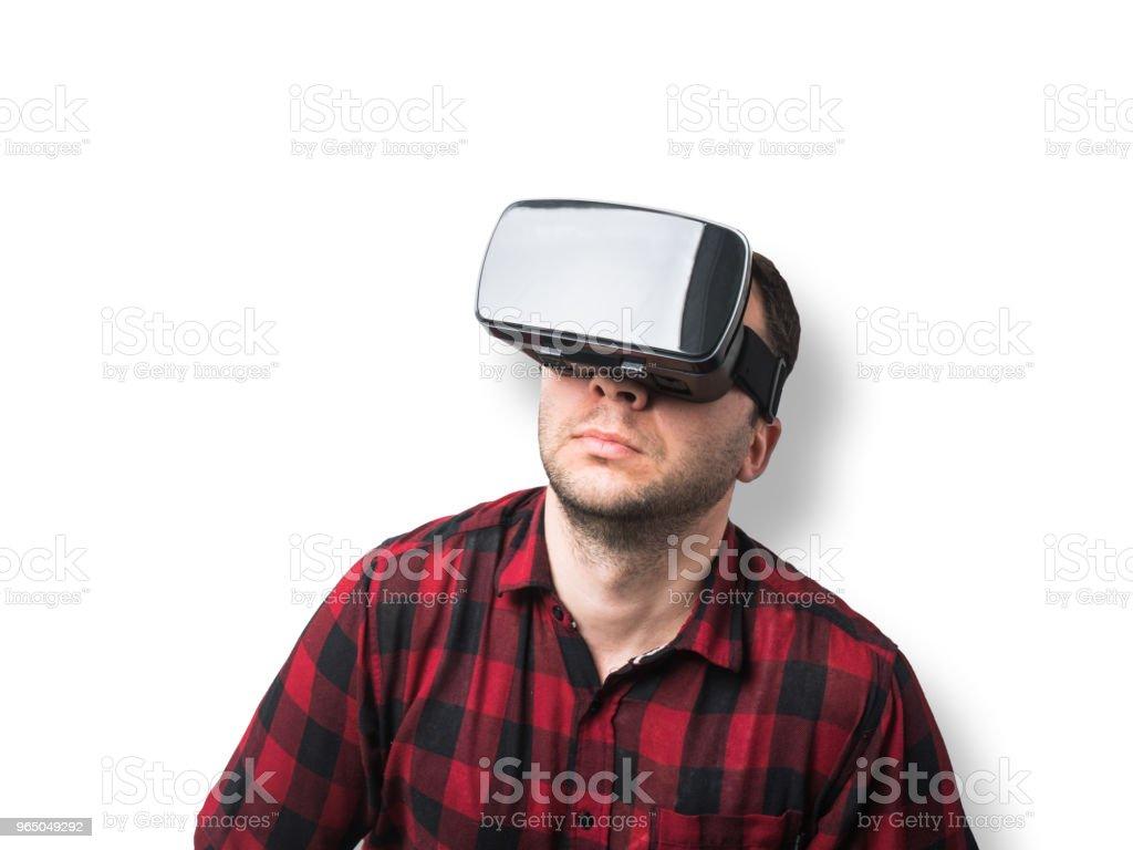 Virtual reality royalty-free stock photo