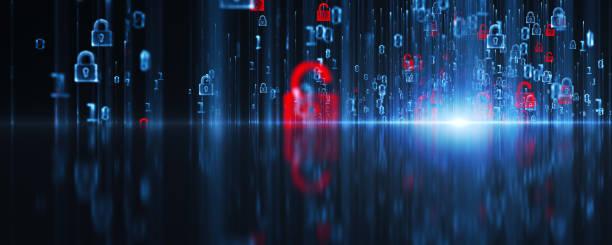 virtuelle sicherheit - netzwerksicherheit stock-fotos und bilder