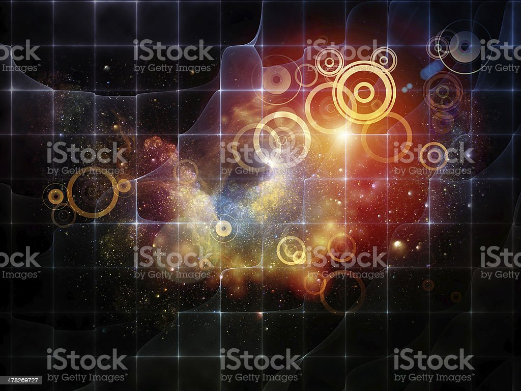 Virtual Space royalty-free stock photo