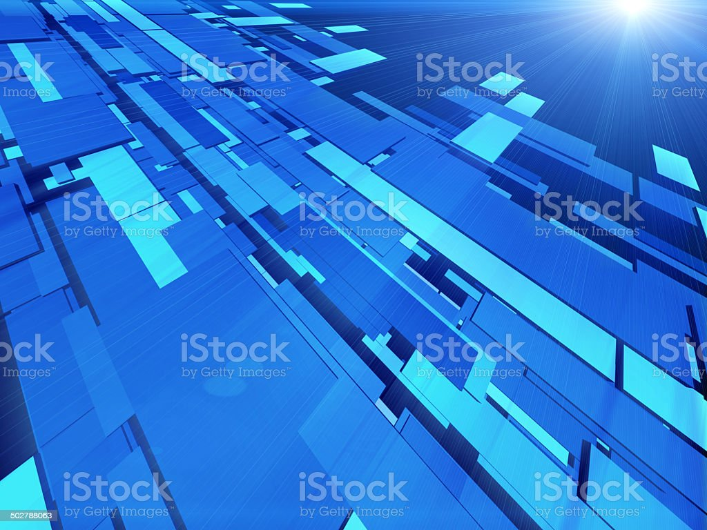 Virtual tecnology background royalty-free stock photo