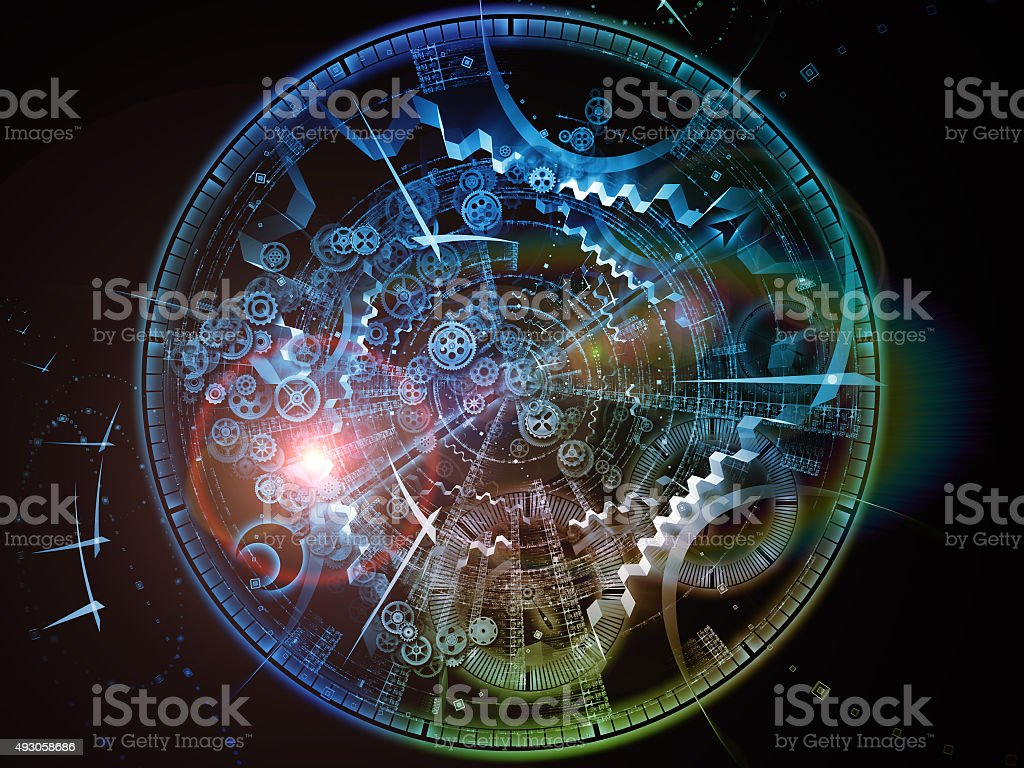 Virtual Time stock photo