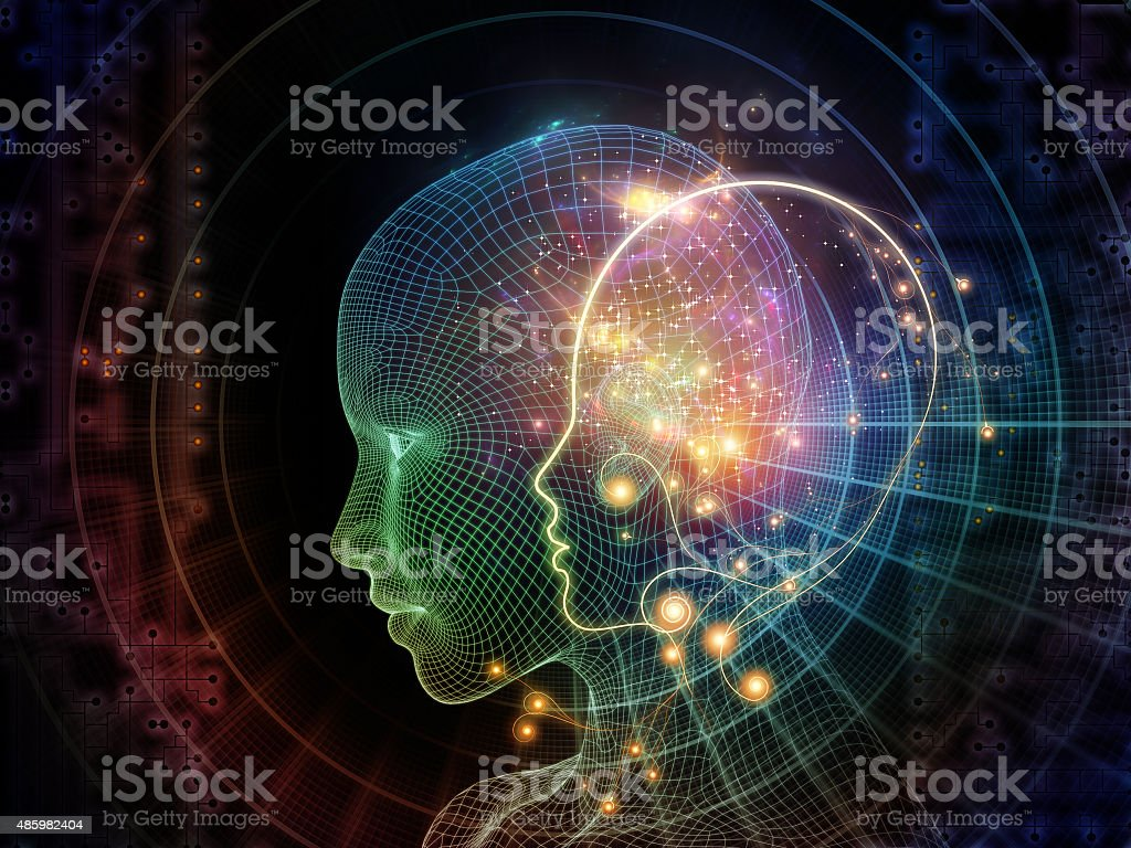 Virtualization of Identity stock photo