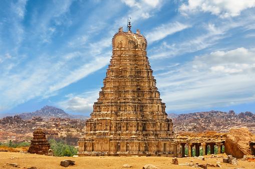 Virupaksha Temple Hampi India Stock Photo - Download Image Now