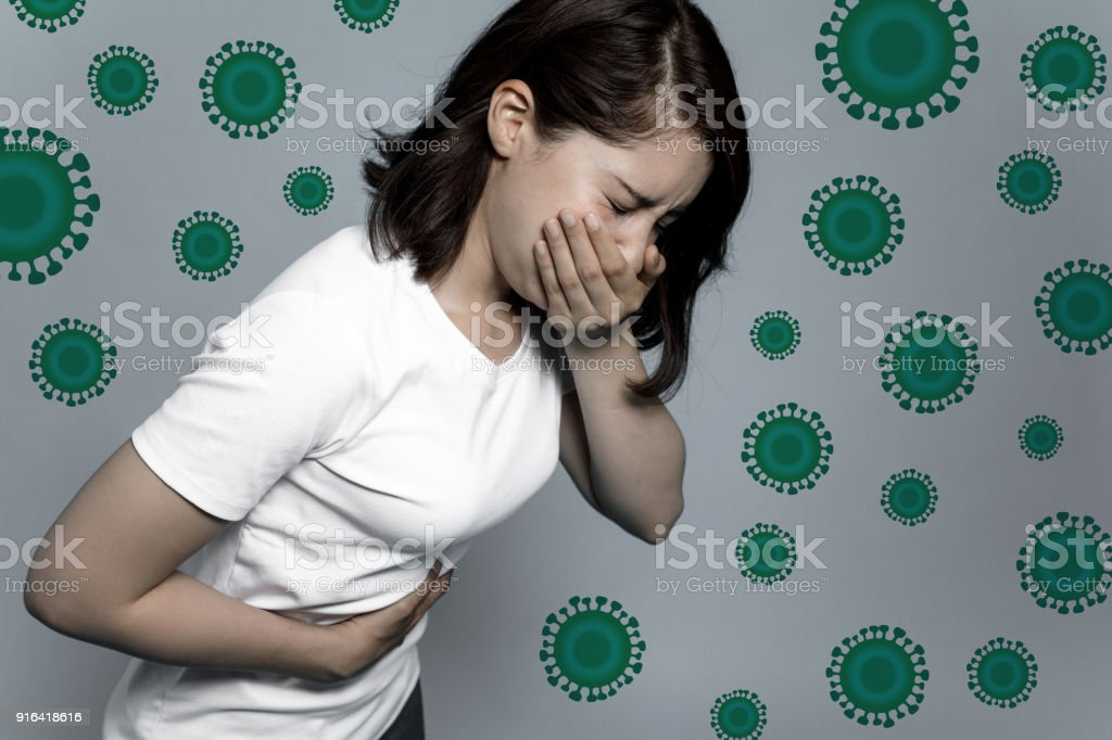 Virus and infectious disease concept. stock photo