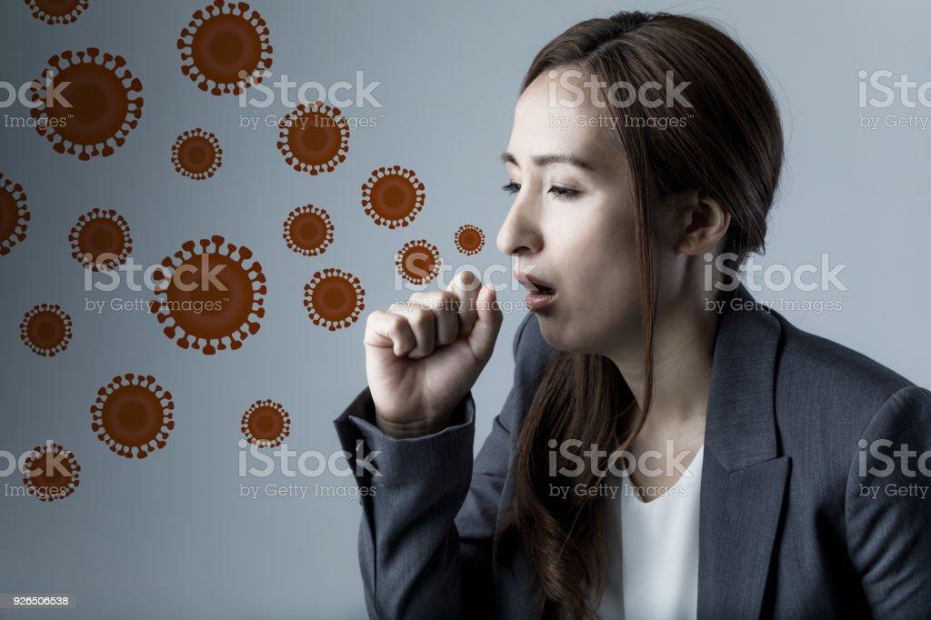 Virus- och infektionssjukdomar koncept. bildbanksfoto