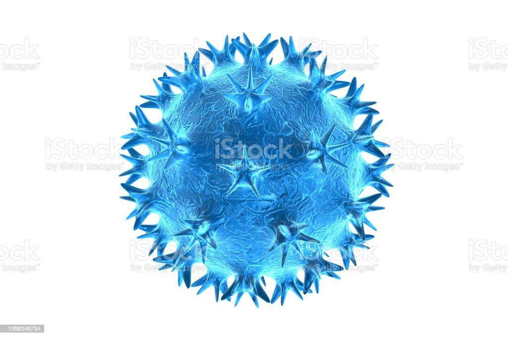 virus, bacterias, render 3d celular - foto de stock