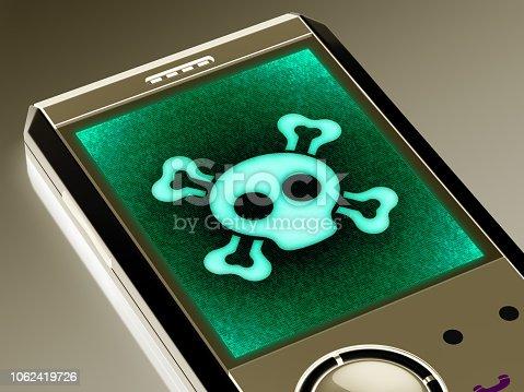 1075957522 istock photo Virus icon 1062419726