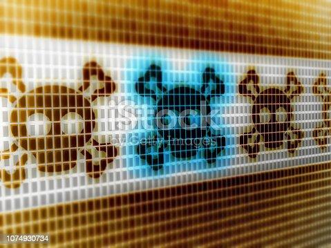 1076263344istockphoto Virus icon 1074930734