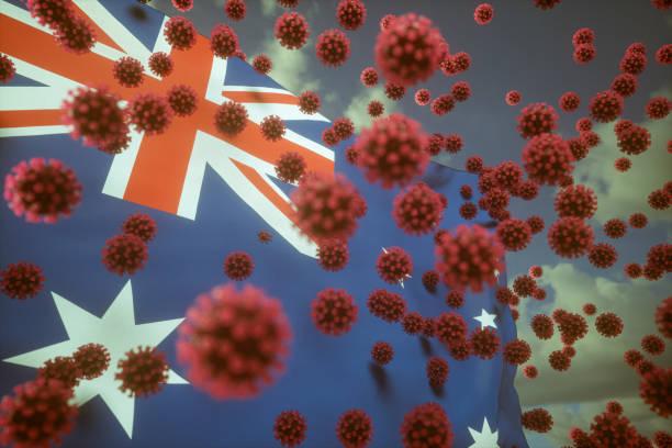 coronavirus australia stock photos