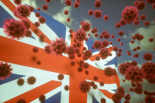 Virus Infects Vereinigtes Königreich – Foto