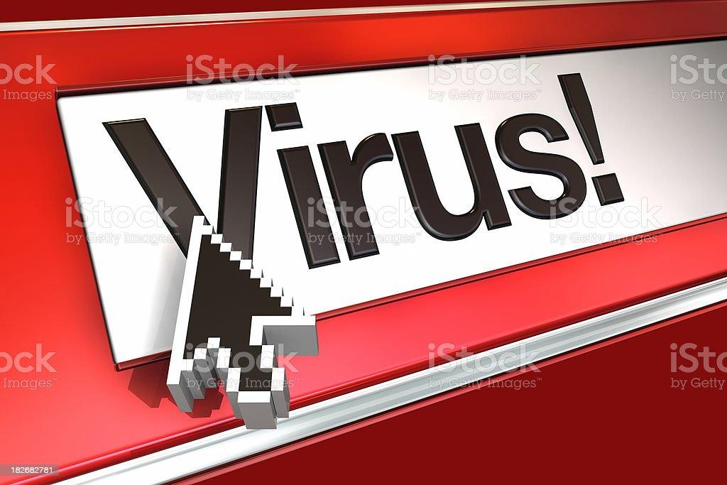 Virus royalty-free stock photo