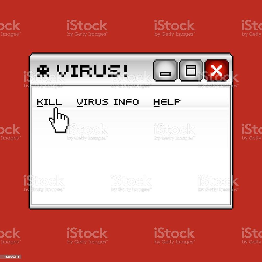 Virus! royalty-free stock photo