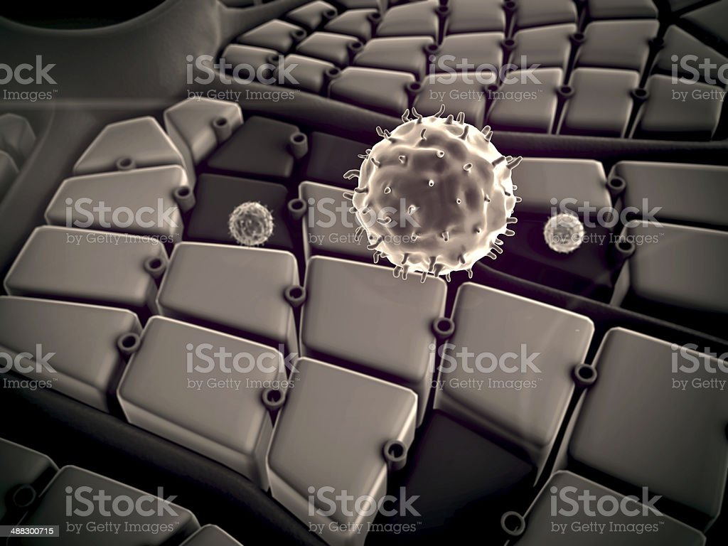 virus royalty-free stock photo