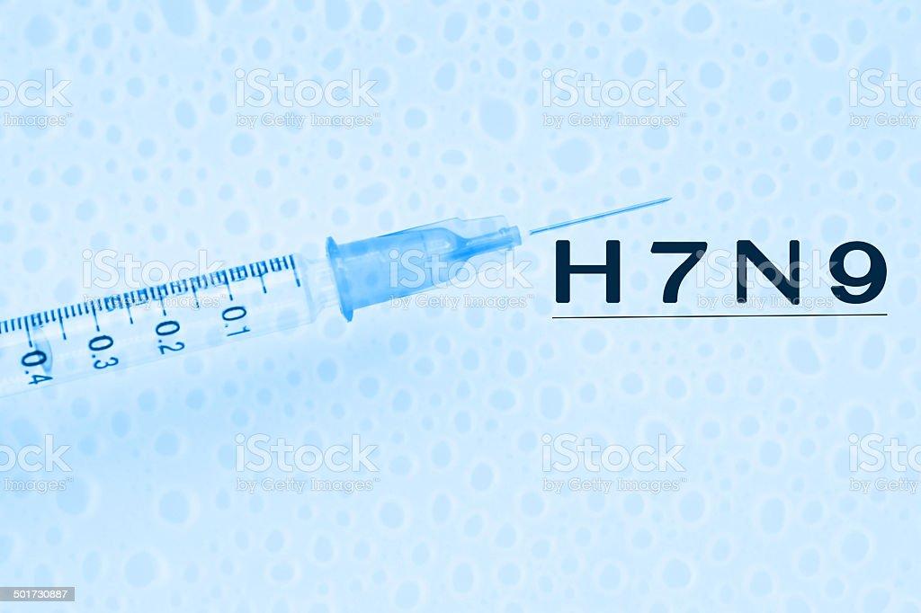 H7N9 Virus stock photo
