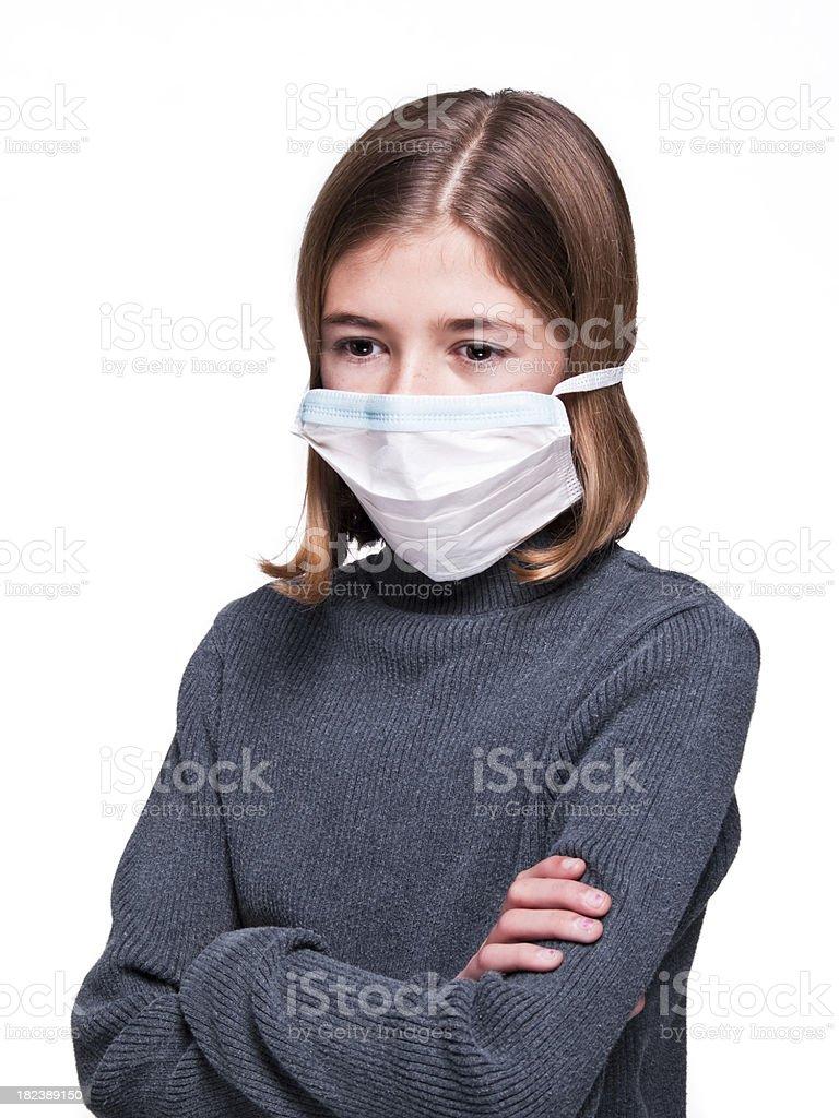 Virus protection royalty-free stock photo