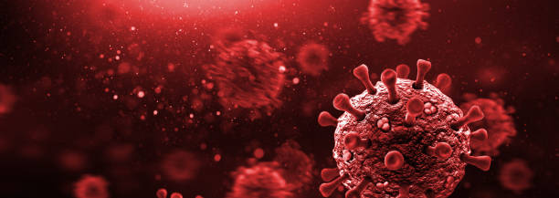Viruses in the Blood Circuit stock photo