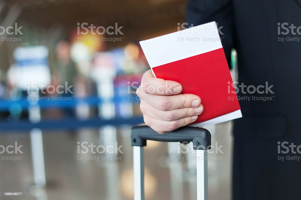 visa and immigration control stock photo