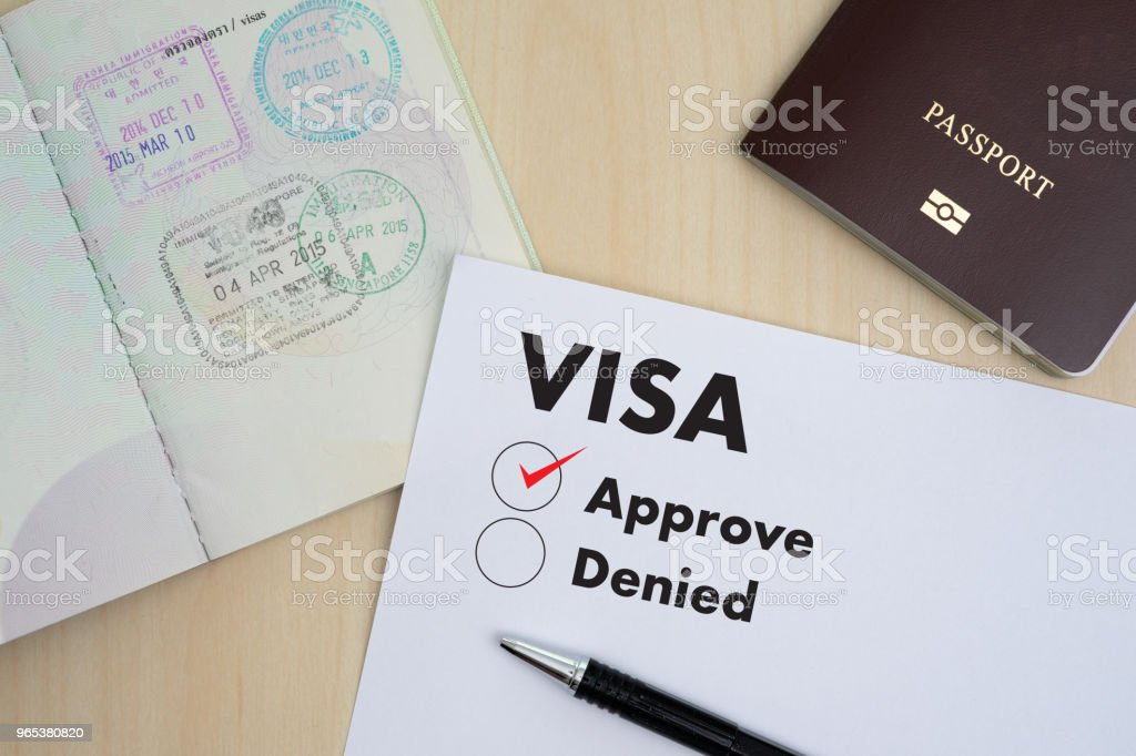 form 965 immigration  Visa Application Form To Travel Immigration A Document Money ...