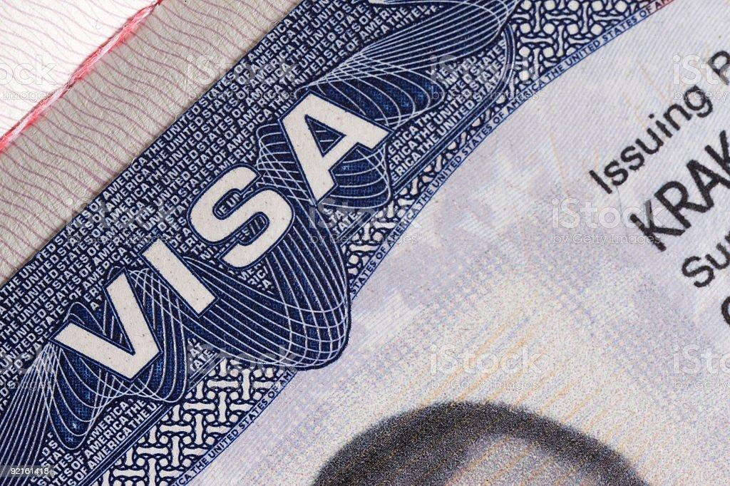 Visa-Dokument – Foto