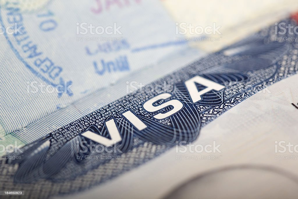Visa stock photo